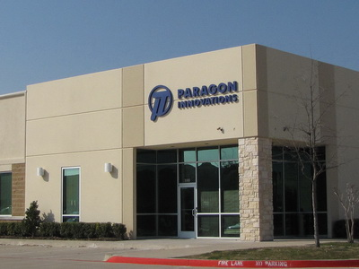 Paragon Innovations, Inc. 3305 Matrix Drive Richardson, Texas 75082 (866) 242-1062