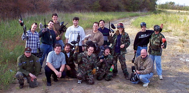 Paragon fun paintball team building outing